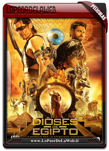 Dioses de Egipto BRrip 720p Latino (2016) [Multi-Host]