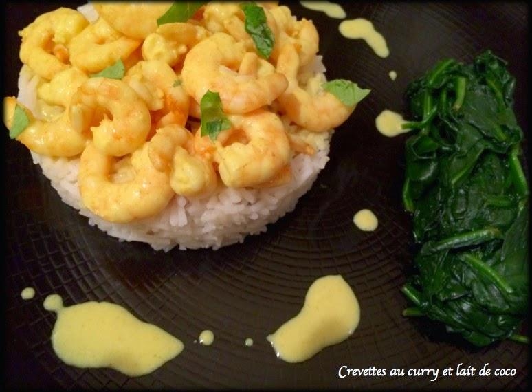 les recettes de cricri crevettes au lait de coco et curry sans gluten sans lactose. Black Bedroom Furniture Sets. Home Design Ideas