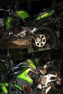 FOTO MOTOR USTAD JEFRI MENINGGAL 2013 Kecelakaan Moge Uje