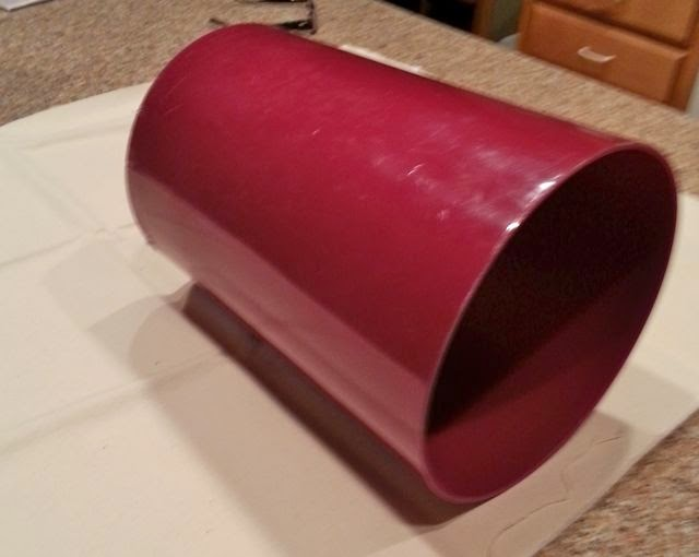 Customized Fabric Covered Wastebasket Tutorial Sweetwater Style