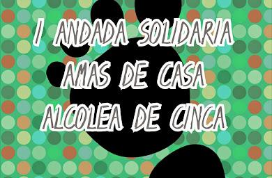 I ANDADA SOLIDARIA AMAS DE CASA _ ALCOLEA DE CINCA