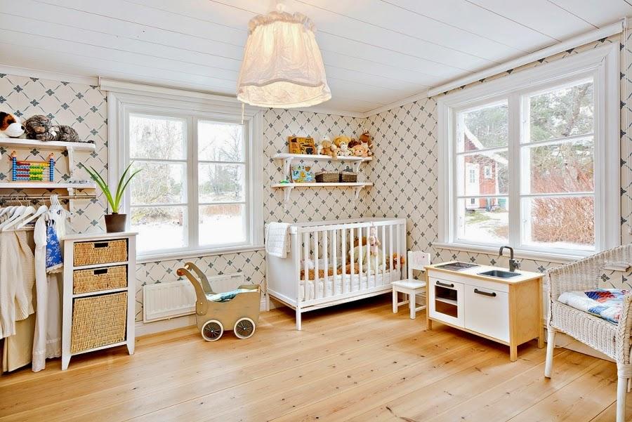 wystrój wnętrz, wnętrza, urządzanie mieszkania, dom, home decor, dekoracje, aranżacje, styl skandynawski, białe wnętrza, skandynawski, drewniany domek, pokój dziecięcy