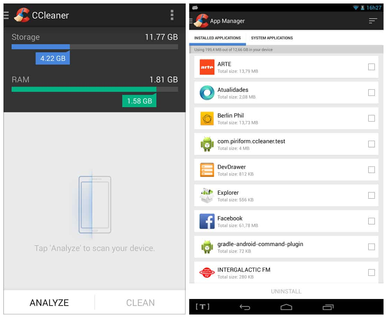 CCleaner Pro v4.14.1 Cracked APK Mod Lite