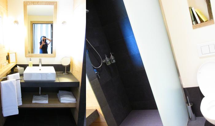 Yves Rocher Blogger Event - La Gree des Landes Hotel - Badezimmer
