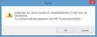 Instalasi Bootable USB Rufus