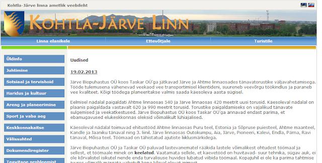 Сайт Кохтла-Ярве