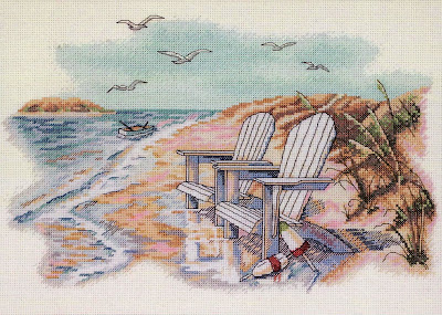 Dimensions 35250, Quiet Beach Moments (Тихие минуты на берегу)