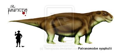 therapsida fosil Patranomodon