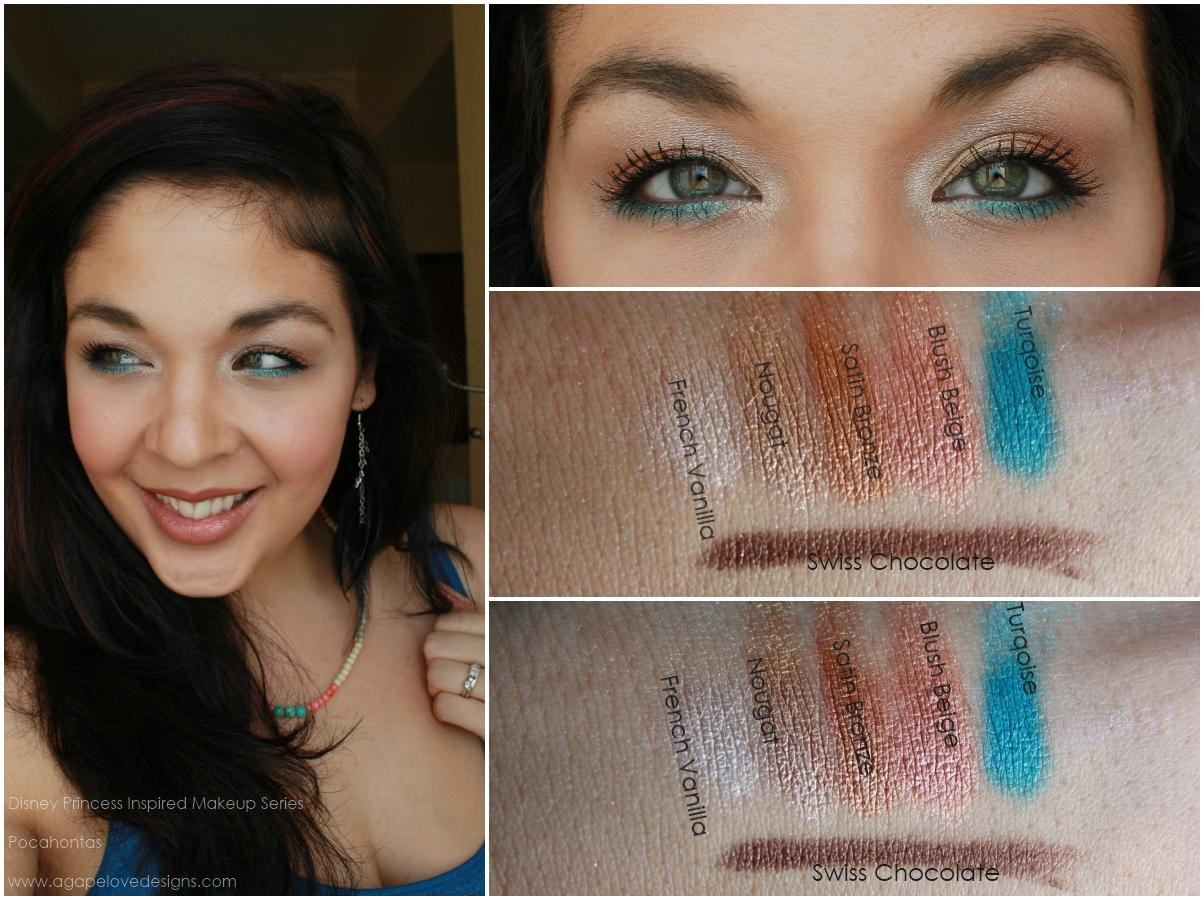 Agape love designs pocahontas inspired makeup baditri Images