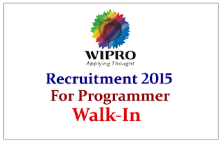 Wipro Hiring for the post of Microsoft for .Net