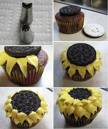 Cute Cupcake Decorating Ideas Pinterest : MuyVariado.com: Ideas para Presentar los Buffets de ...
