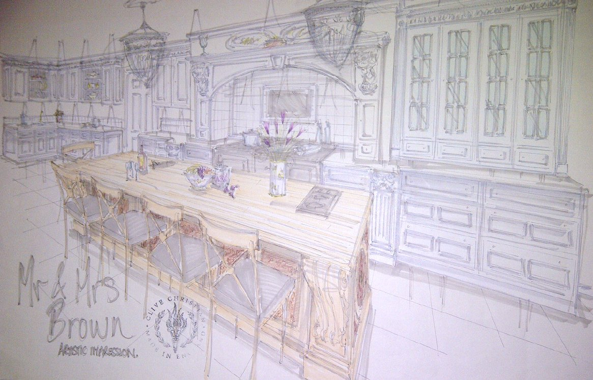 TRADITION INTERIORS OF NOTTINGHAM: Clive Christian: Artist Artistic ...