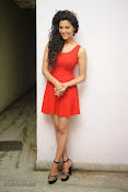 Saiyami Kher Hot in Red at Rey Trailer launch-thumbnail-20
