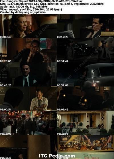 Gangster Squad (2013) 480p BRRip XviD AC3 - PTpOWeR