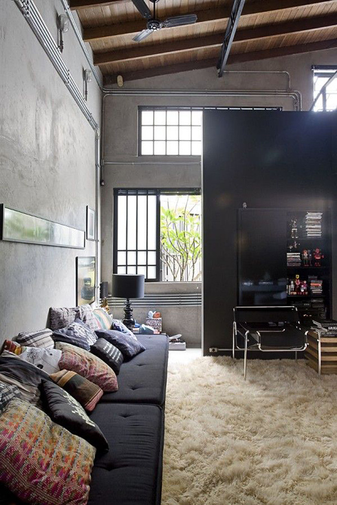 guilherme torres big bad loft design made by girl. Black Bedroom Furniture Sets. Home Design Ideas
