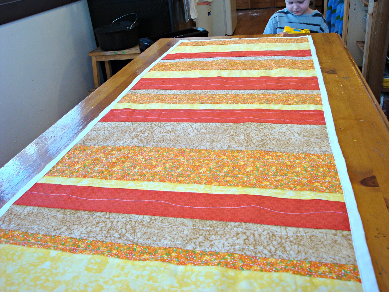 Free Sewing Patterns for Boys and Girls!: Fall Table Runner