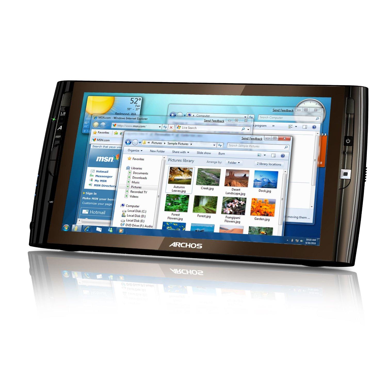 archos 9 pc windows 7 starter tablet black tablets price specs review. Black Bedroom Furniture Sets. Home Design Ideas