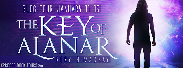 Blog Tour: The Key of Alanar by Rory B. Mackay