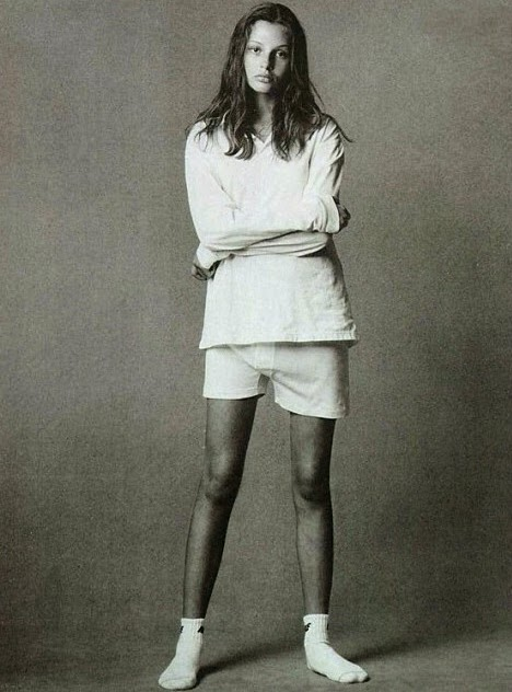 Bridget Hall photographed by Steven Meisel Vogue US, June 1993