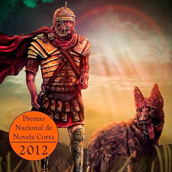 Ilustración y diseño de portada. Velox el perro legionario