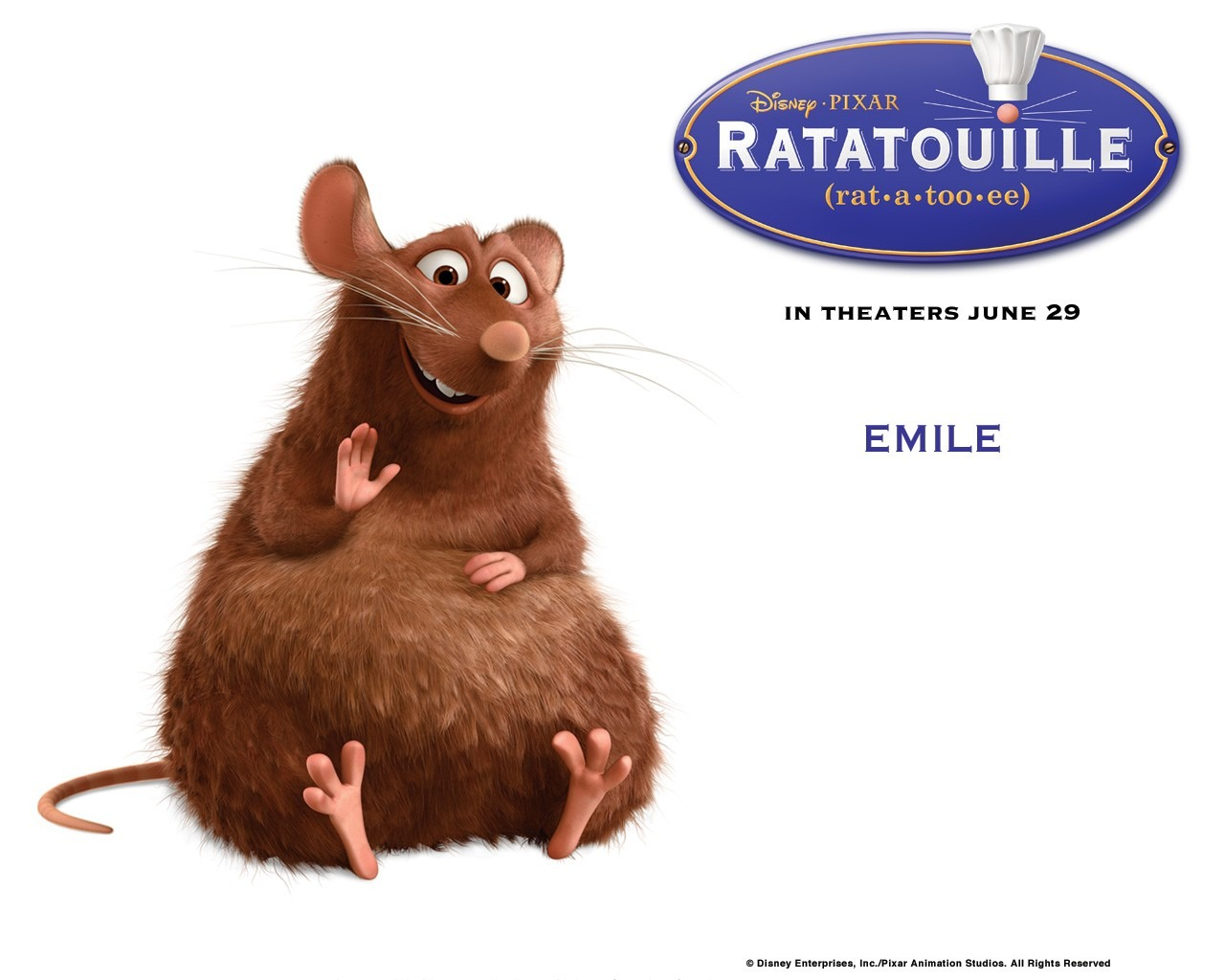 Disney Media: Ratatouille