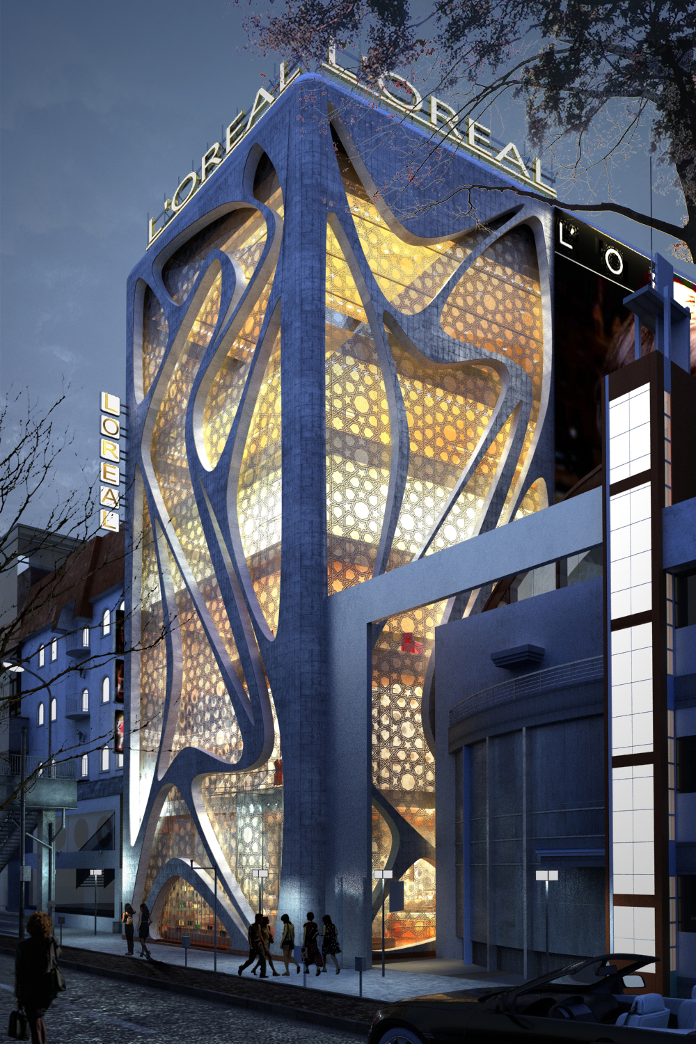 Modern Architecture Office world of architecture: new l'oreal office buildingiamz design