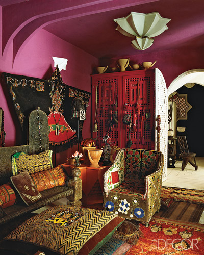 Moon to moon moroccan home for Eclectic interiors