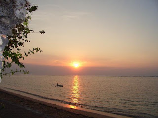 Sunrise on Sanur Beach Bali