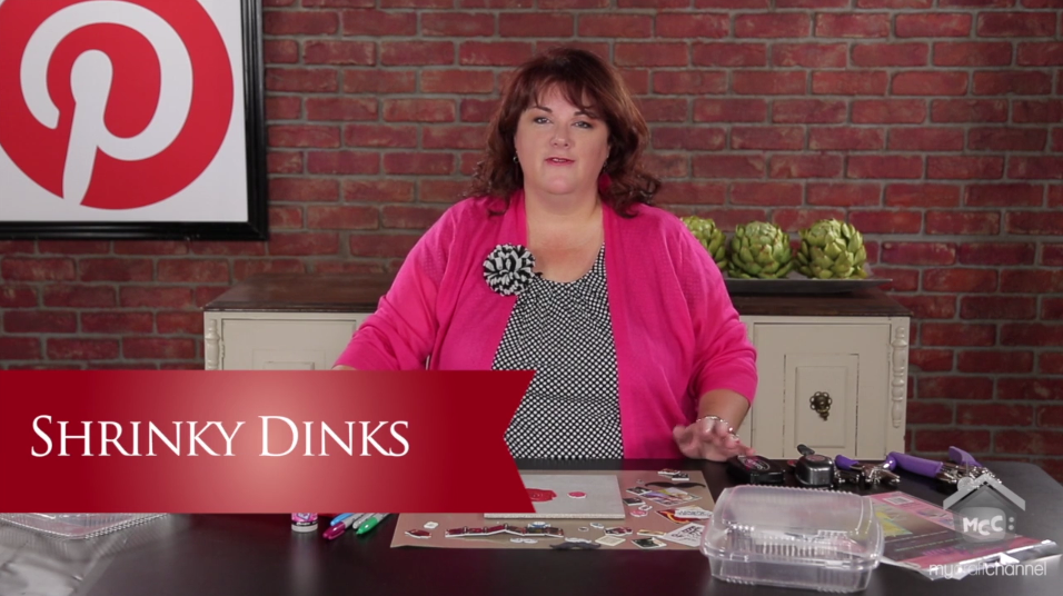 how to use crystal clear shrinky dinks