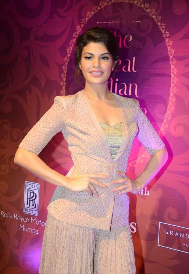 Jacqueline Fernandez at launch of 'The Great Indian Wedding Book'