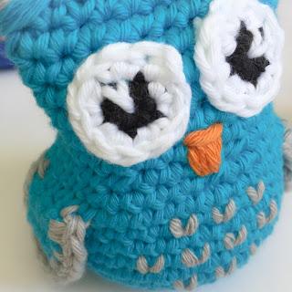 virka uggla mönster familij present crochet owl pattern present baby