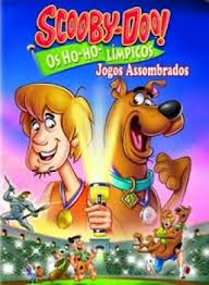Capa - Scooby-Doo Os Ho-ho-límpicos Jogos Assombrados