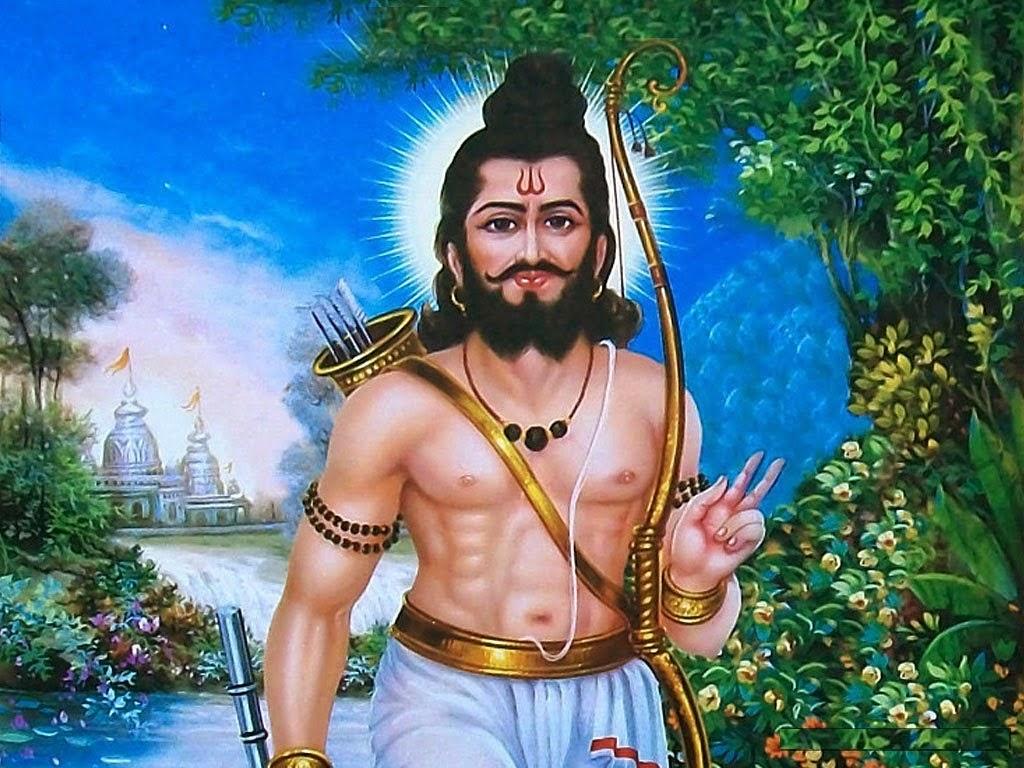 Happy Parshuram Jayanti Lovely HD God Wallpapers Lord Parshuram ji Photo
