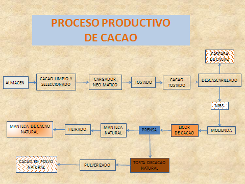 Ceibo descripcion de proceso productivo de toda la empresa for Descripcion del proceso de produccion