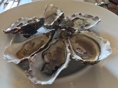 Oysters at The White Rabbit