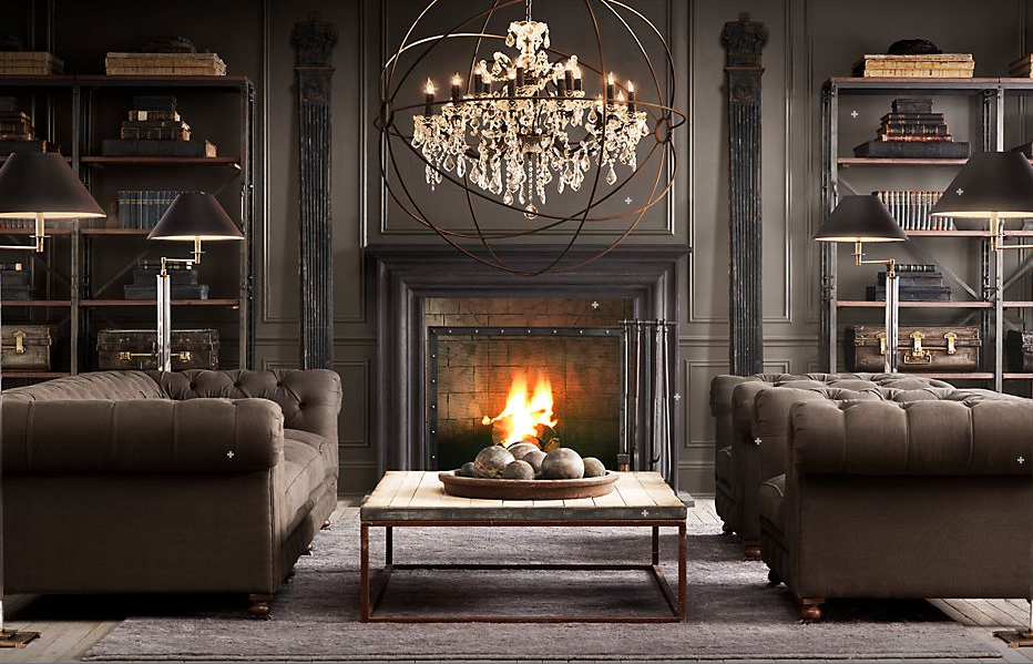 Dreams restoration hardware fall 2011 for Home design restoration