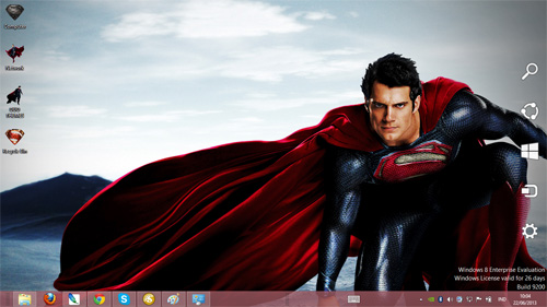 Man Of Steel Theme For Windows 7 And 8