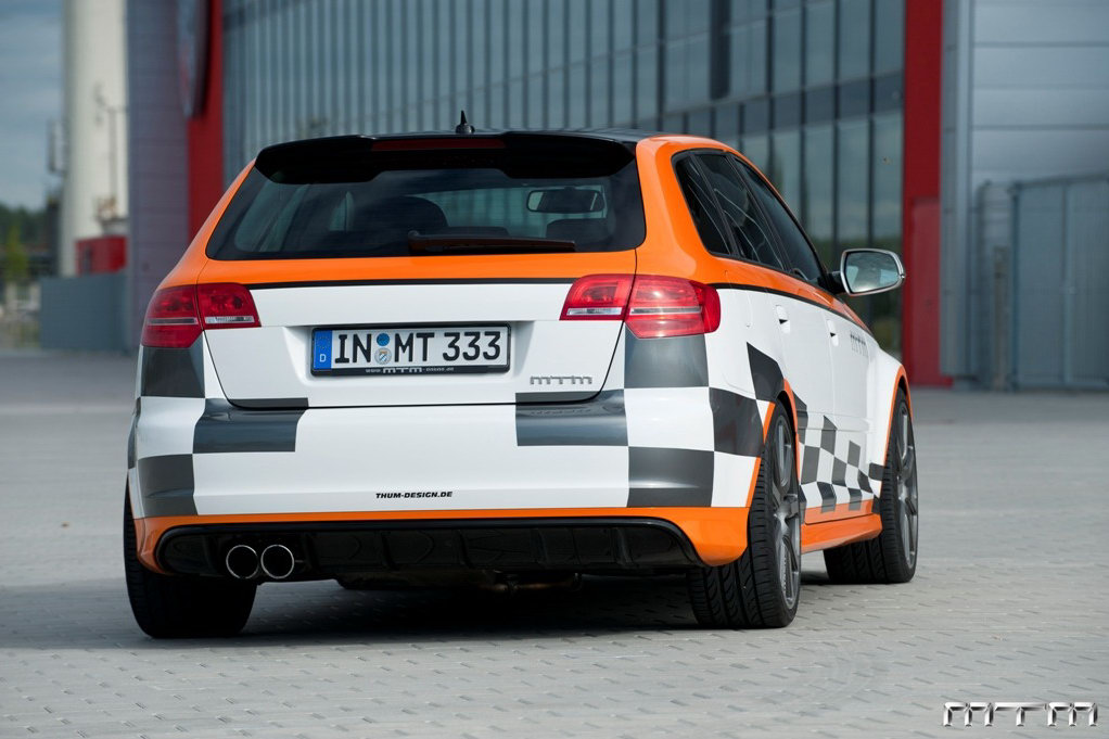 Audi RS3 MTM : Nouvelles photos