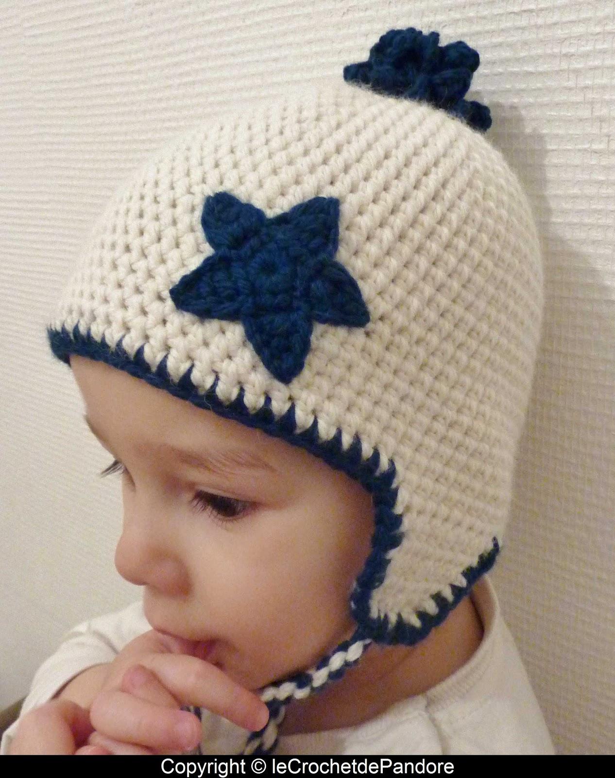 Top le Crochet de Pandore: Bonnet petit garçon KJ99
