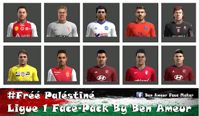 PES 2013 Ligue 1 Face-Pack By Ben Ameur