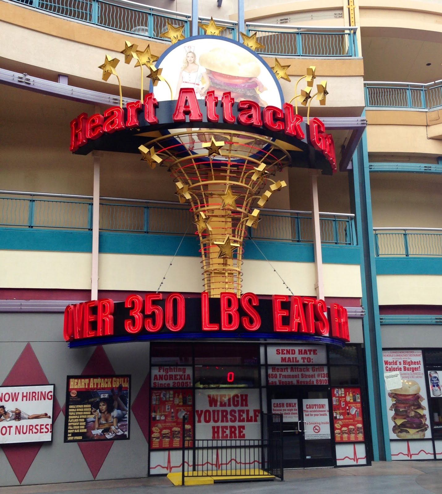20,000-Calorie Burger From The Heart Attack Grill - Business Insider