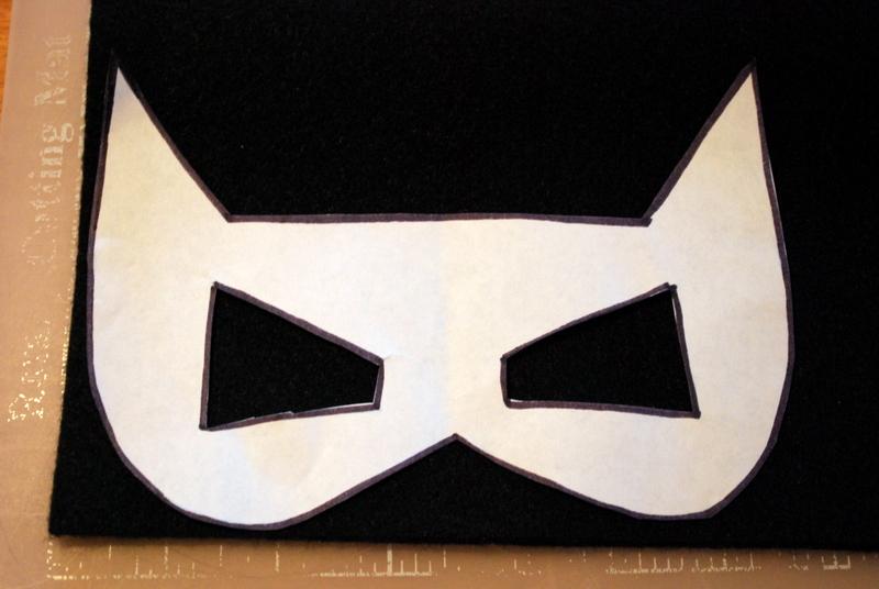 Sunshine And A Summer Breeze Free Template For Batman Catwoman Felt Masks