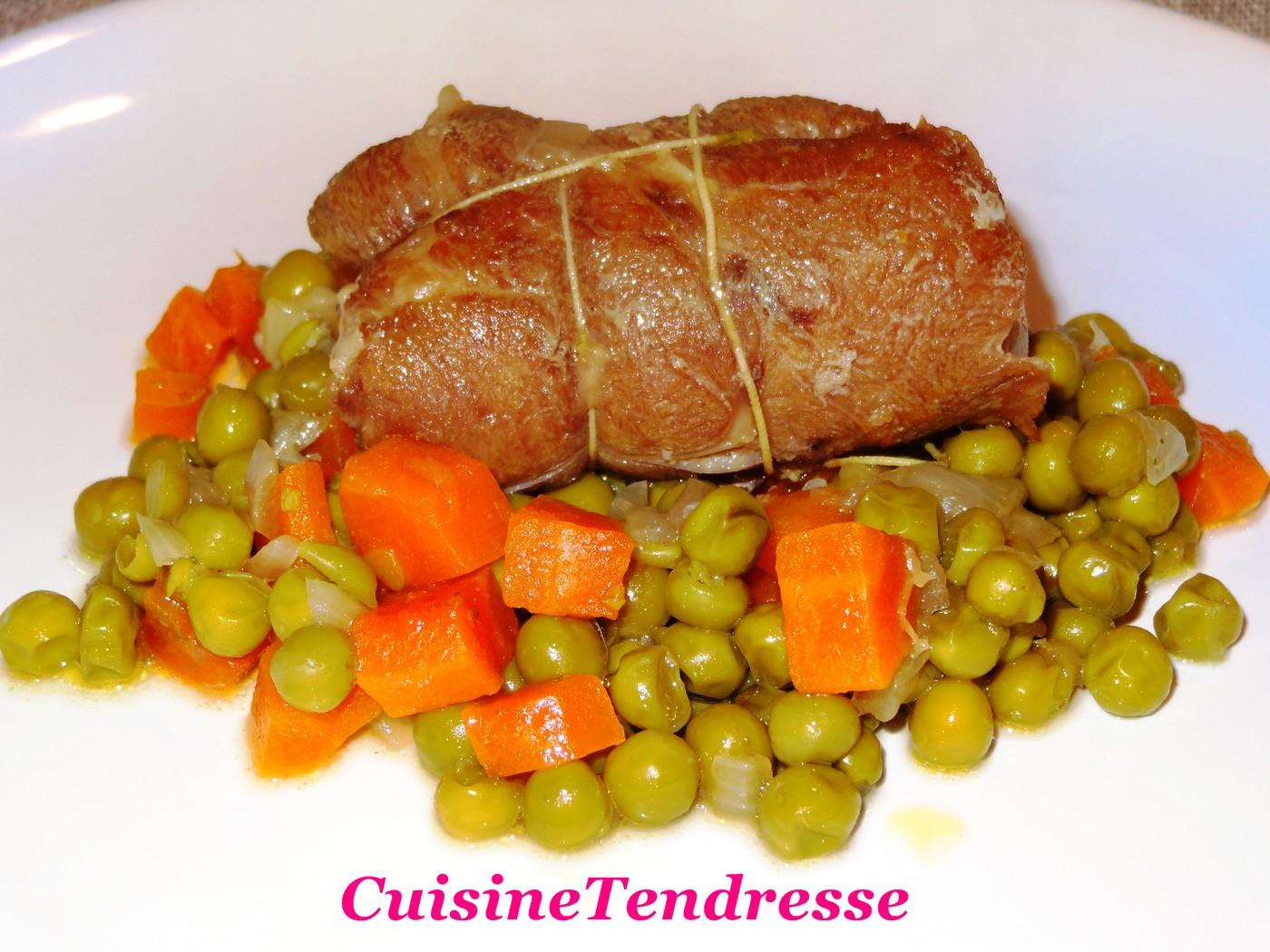 La tendresse en cuisine - Cuisine paupiette de veau ...