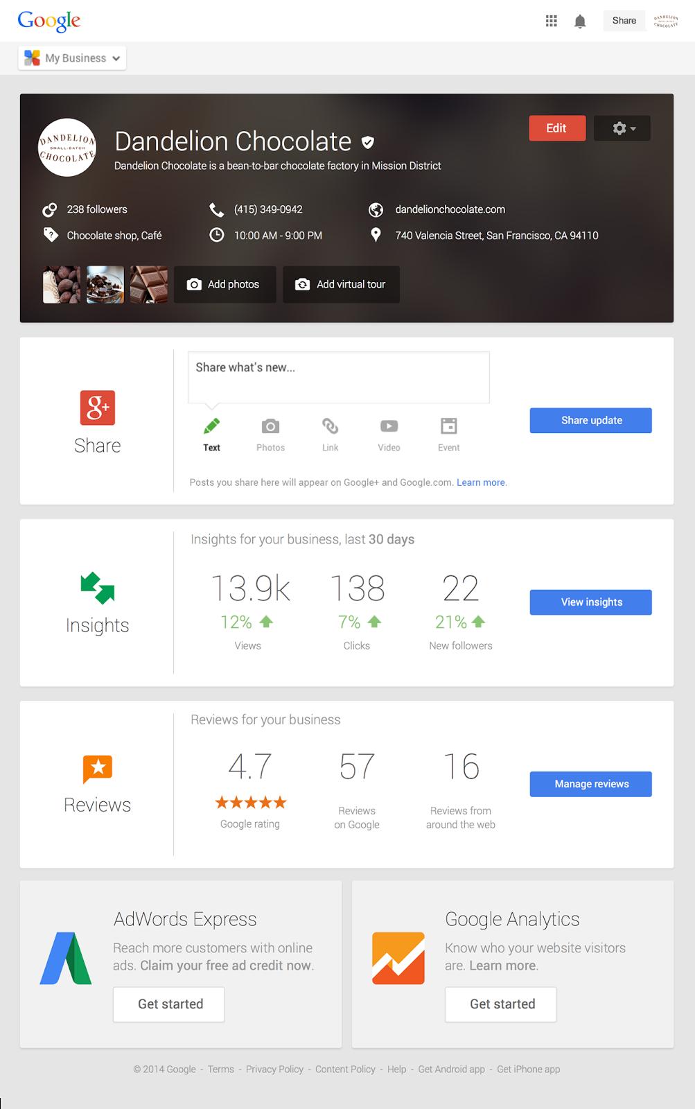Google My Business Profil