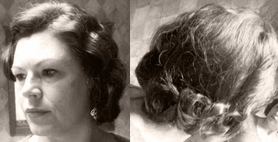 Retro Gran 1920 decade of hairstyles