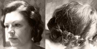 Retro Gran 1920 decade of hairstyles