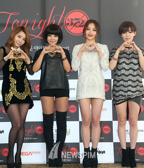 Brown Eyed Girls Konferensi Pers Untuk 'Tonight 37.2°C' 01