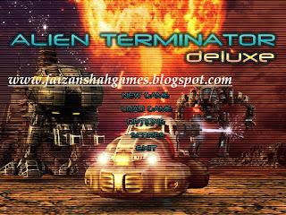 Alien terminator game