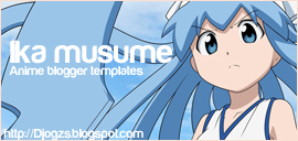 Ika musume blogger templates