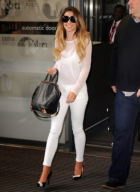Cheryl Cole at BBC Radio 1in London June 2014